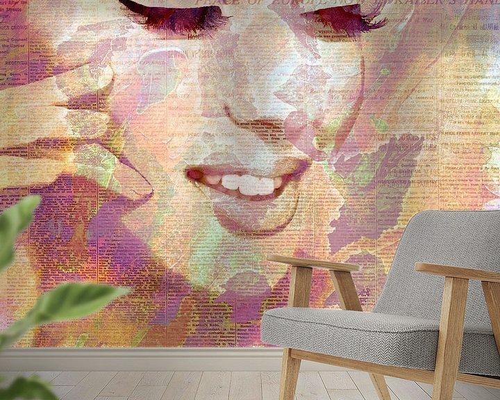Sfeerimpressie behang: Like van Jacky