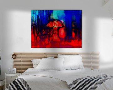 The red umbrella von Gabi Hampe