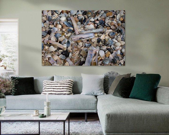 Beispiel: Strandschatten von Berthilde van der Leij