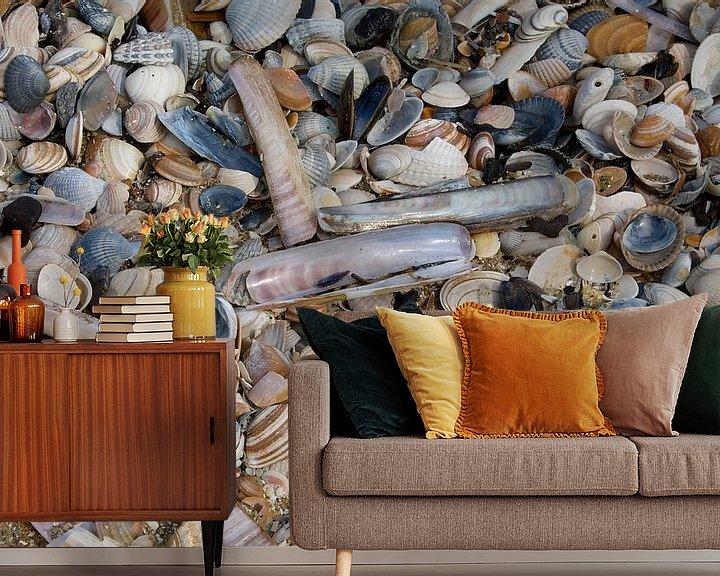 Beispiel fototapete: Strandschatten von Berthilde van der Leij