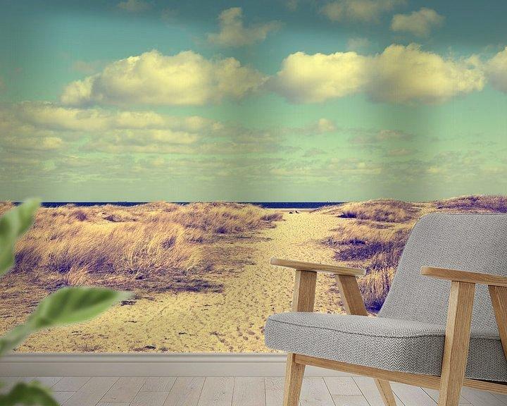 Beispiel fototapete: Barfuß am Strand  von Tanja Riedel