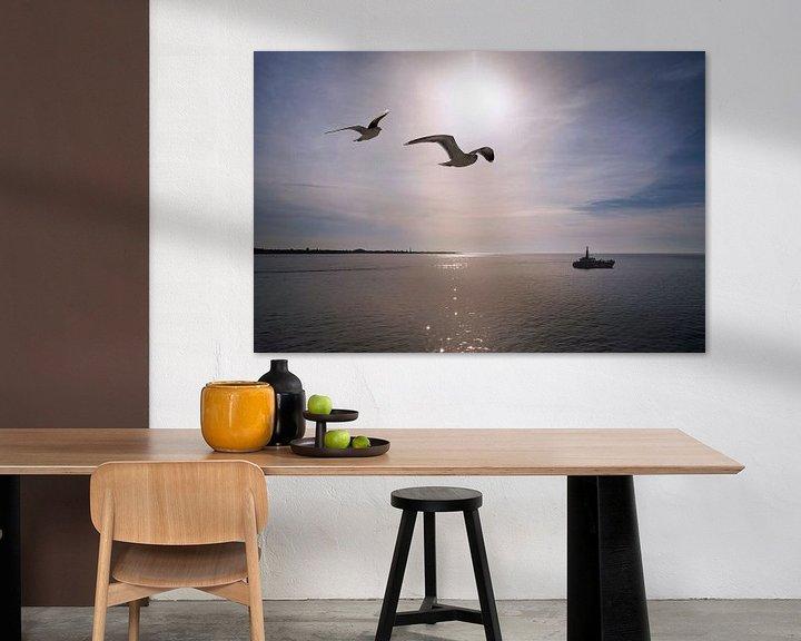 Sfeerimpressie: Onderweg naar Texel van Christa Thieme-Krus