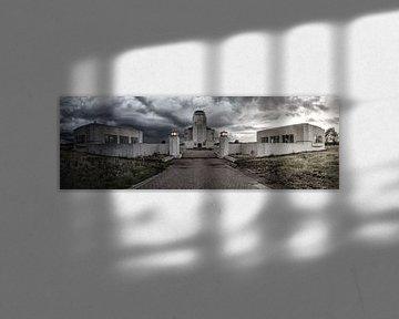Storm over Radio Kootwijk van Menno van Dijk