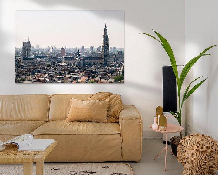 Impression: Anvers paysage urbain sur Stefan Witte