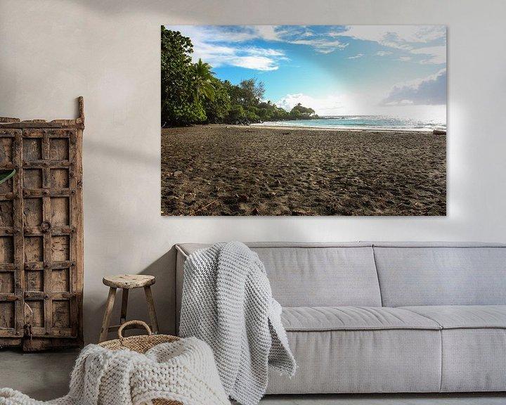 Impression: Tropical Hamoa Beach sur Louise Poortvliet