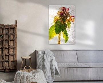 Florets in ice van Marc Heiligenstein