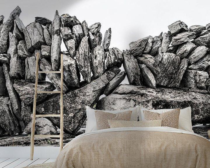 Sfeerimpressie behang: The Wall van Stefan Witte