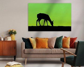 Groen en Zwart van Martijn van Dellen