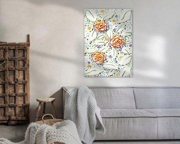 Wasserblumen  von ART Eva Maria