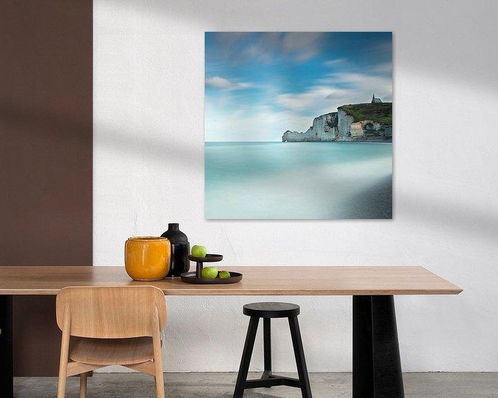Sfeerimpressie: Étretat, Frankrijk van Tony Ruiter