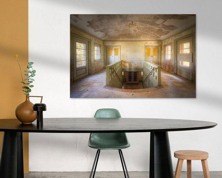 Sfeerimpressie: Trappenhuis. van Roman Robroek
