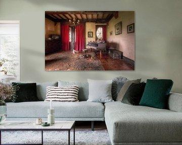 Klavier im Haus, Belgien von Roman Robroek