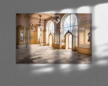 Spiegelzimmer – Constanta Casino, Rumänien von Roman Robroek