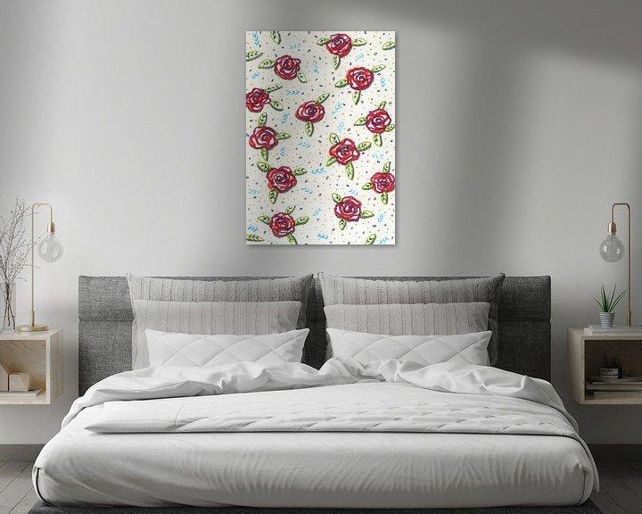 Sfeerimpressie: Al deze rozen zijn voor jou van ART Eva Maria