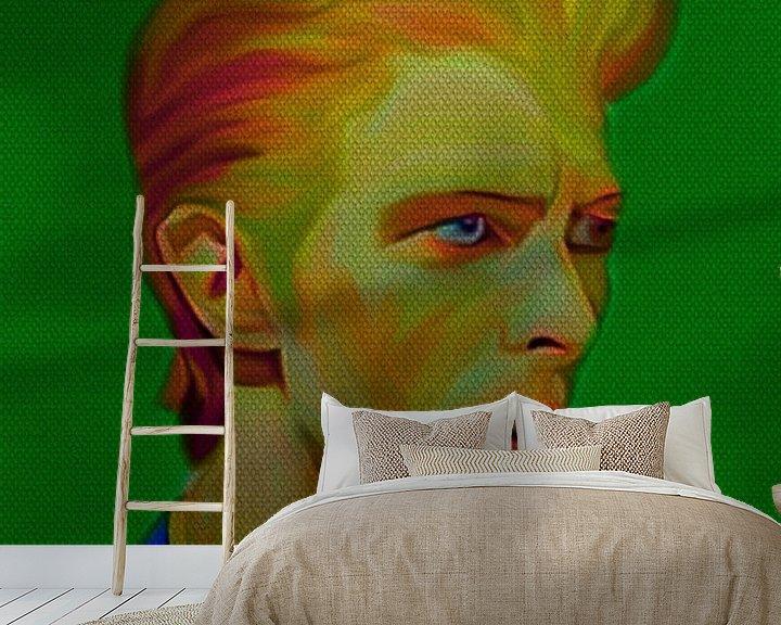 Beispiel fototapete: My name is David Bowie 1970 von Felix von Altersheim
