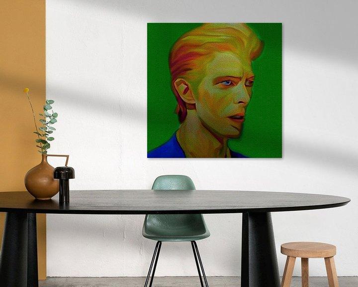 Beispiel: My name is David Bowie 1970 von Felix von Altersheim