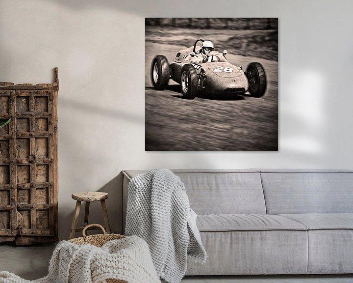 Beispiel: Grand Prix Zandvoort 1962 von Fons Bitter