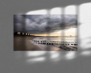Strand Zeeland von Marloes van Pareren