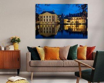 Mauritshuis aan de Hofvijver van Gerrit de Heus
