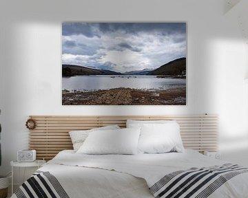 Schotland, Loch Tay bij Kenmore van Cilia Brandts