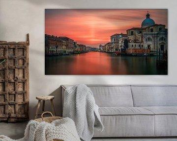 Sunset Venice van Teun Ruijters