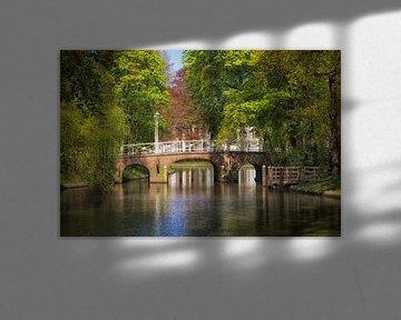De Maliebrug in Utrecht over de Stadsbuitengracht (2) van De Utrechtse Grachten