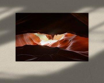 Antilope Canyon  van Peter De Knock