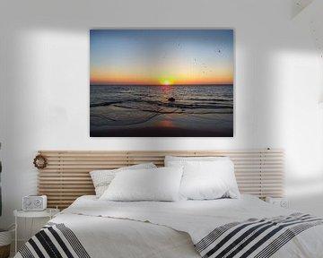 ondergaande zon / sunset von Margriet's fotografie