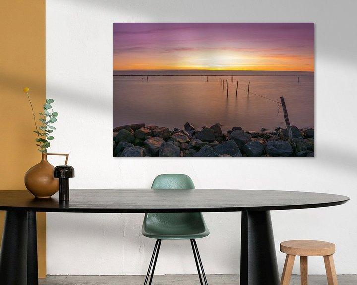 Sfeerimpressie: Zonsondergang bij Andijk van Ardi Mulder