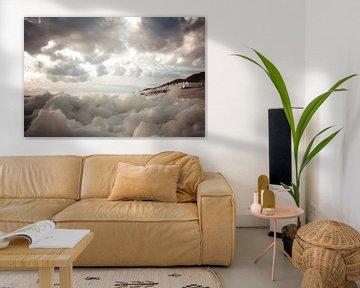 Wolken val van Sonja Pixels