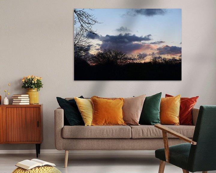 Sfeerimpressie: zonsopkomst van Amber van den Broek