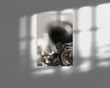 Saxofoon van Ingrid Van Damme fotografie