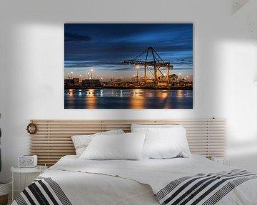 Haven Rotterdam van Martin de Bock