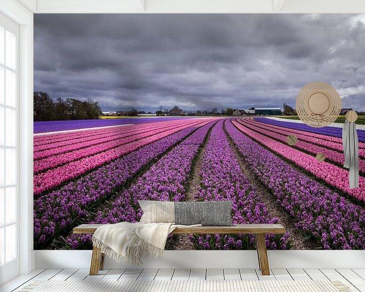 Sfeerimpressie behang: Follow the line van Ralf Linckens