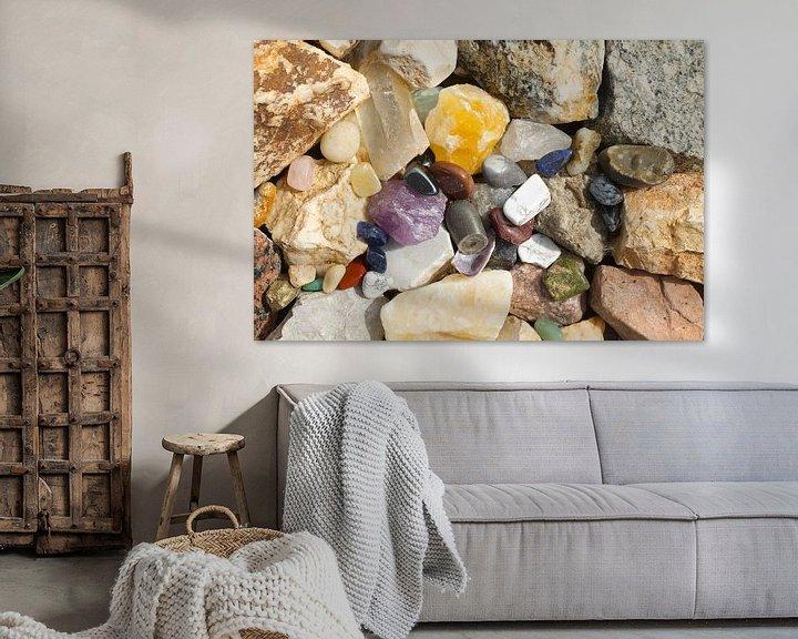 Sfeerimpressie: Schitterende stenen van Berthilde van der Leij