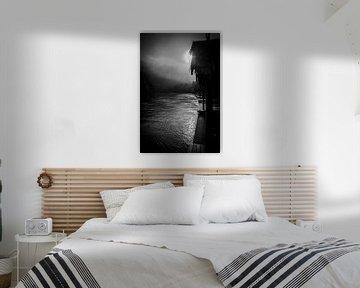 Mist op de River Kwai in Thailand von Cathy Janssens
