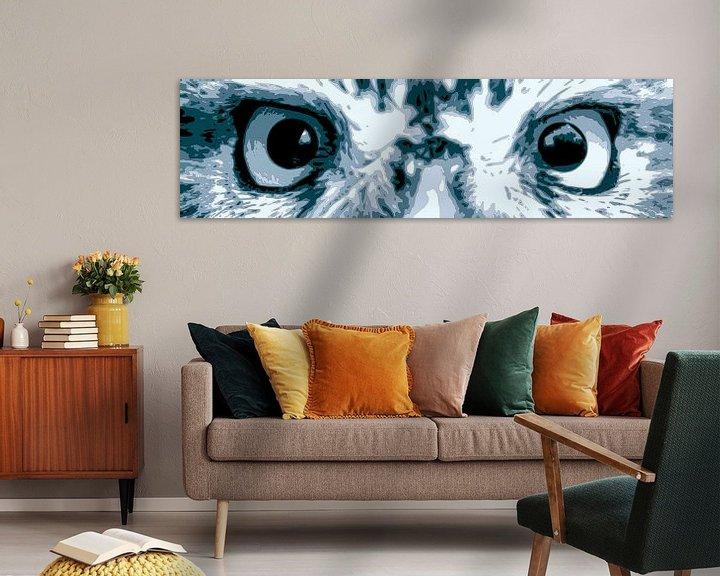 Sfeerimpressie: Steenuil ogen van Jan Brons