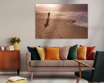 Scheveningen by dawn - 5 van Damien Franscoise
