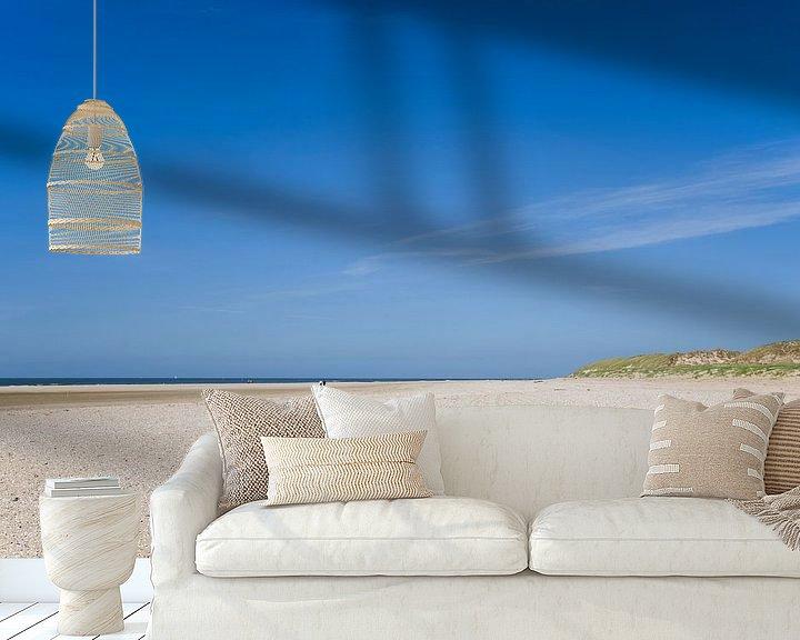 Beispiel fototapete: Strand am Texel von Barbara Brolsma