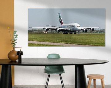 Emirates Airbus A380 vlucht EK147 van Roel Ovinge