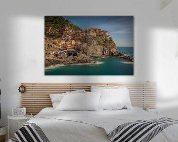 Manarola Cinque Terre Italy van Rene Ladenius Digital Art