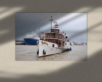 """De raderstoomboot """"Freya""""  van Rolf Pötsch"""