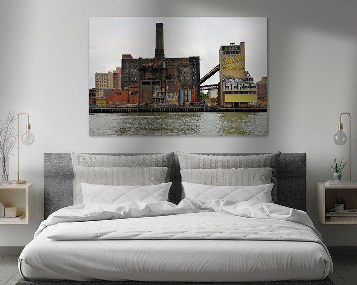Sfeerimpressie: Verlaten suikerfabriek New York van Gerda Beekers