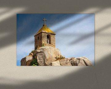 Notre-Dame de Port Blanc in Bretagne, Frankrijk van Evert Jan Luchies