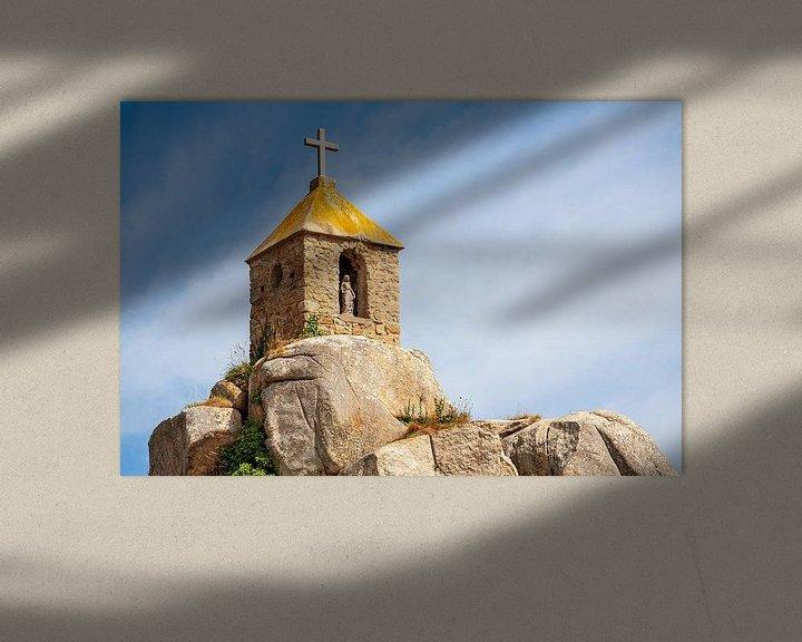 Sfeerimpressie: Notre-Dame de Port Blanc in Bretagne, Frankrijk van Evert Jan Luchies