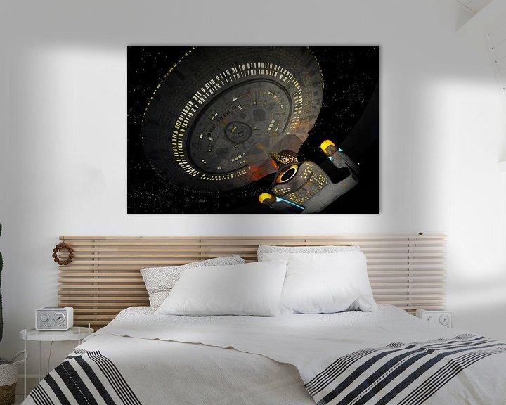 Sfeerimpressie: Star Trek Next Generation - USS Enterprise van Roel Ovinge