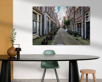 Langestraat in Amsterdam. van Don Fonzarelli