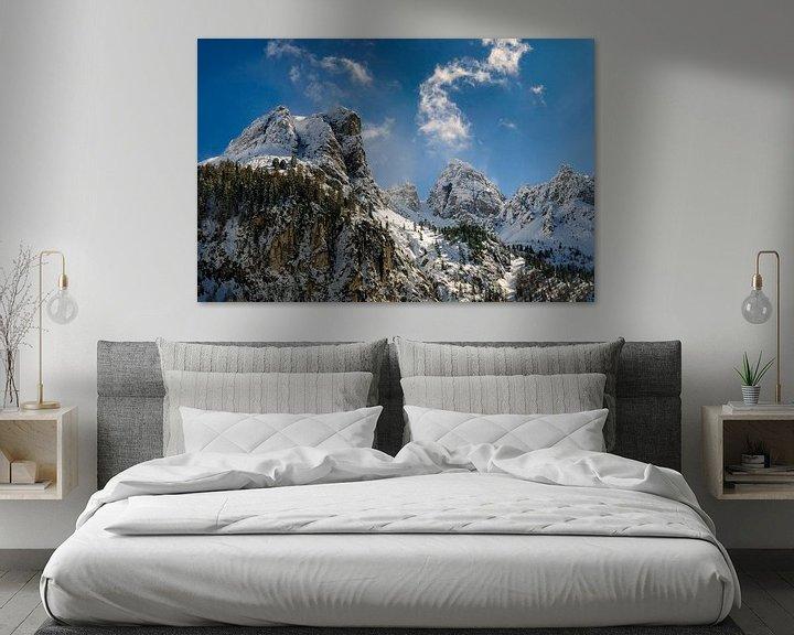 Sfeerimpressie: Schneiderspitze  in  Axamer Lizum Oostenrijk van Martijn van der Nat