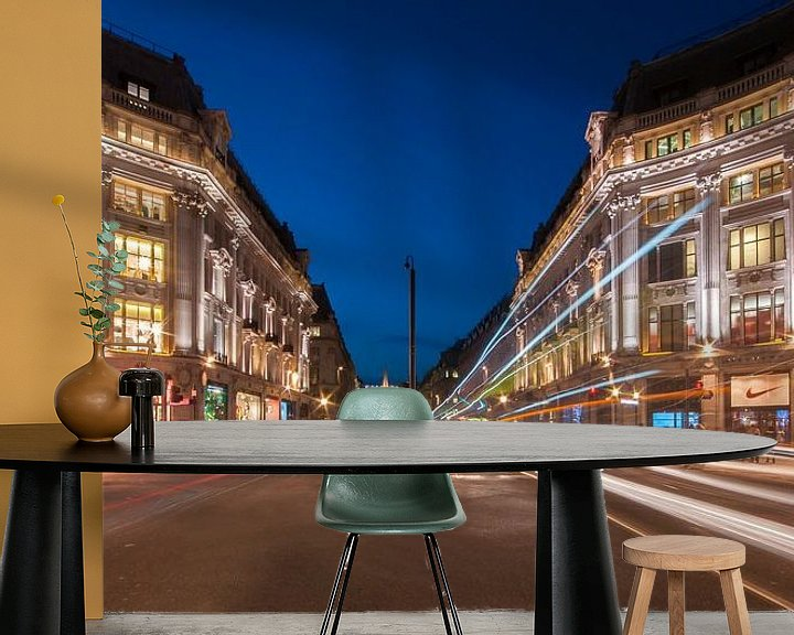 Impression: Regent Street in the blue hour sur Michael Echteld