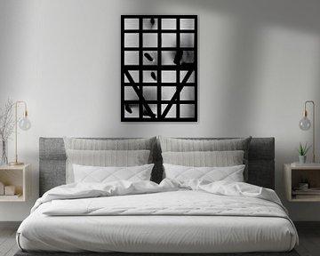 Silhouet II van Rob van der Pijll